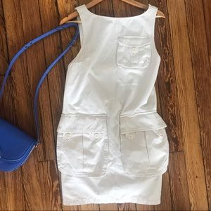 White Denim Marc Jacobs Dress